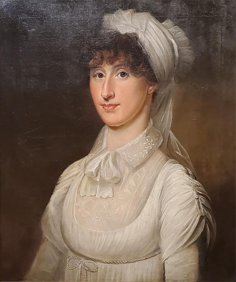 American School 1815 Portrait of a Woman