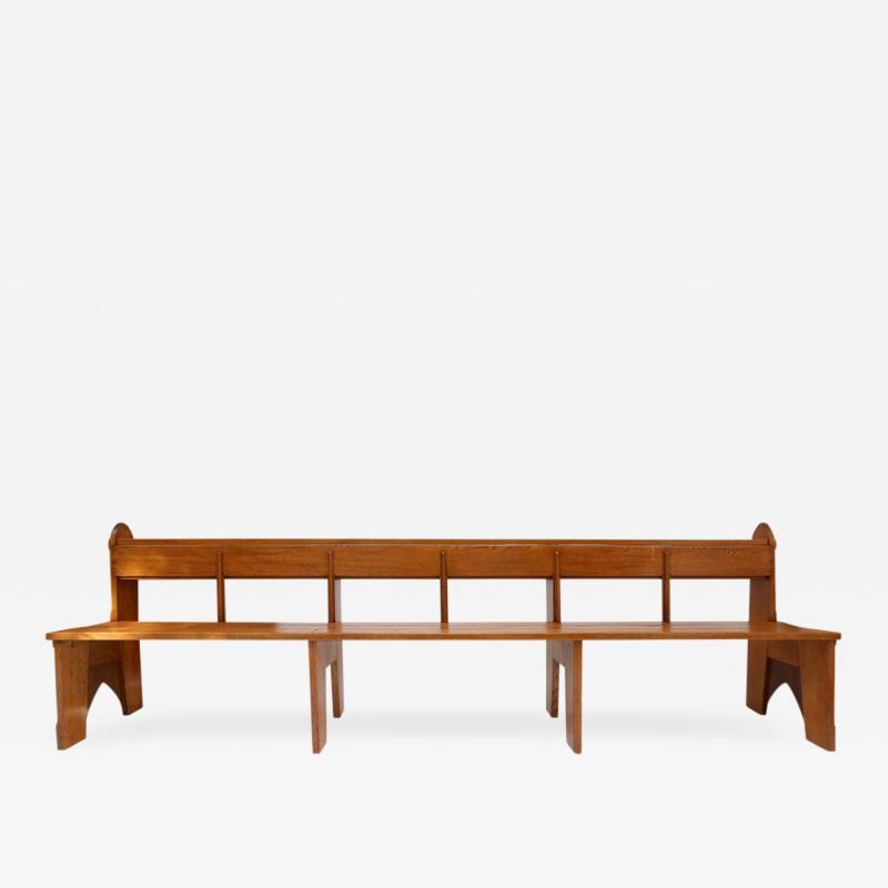 Amsterdam School Style Benches N III