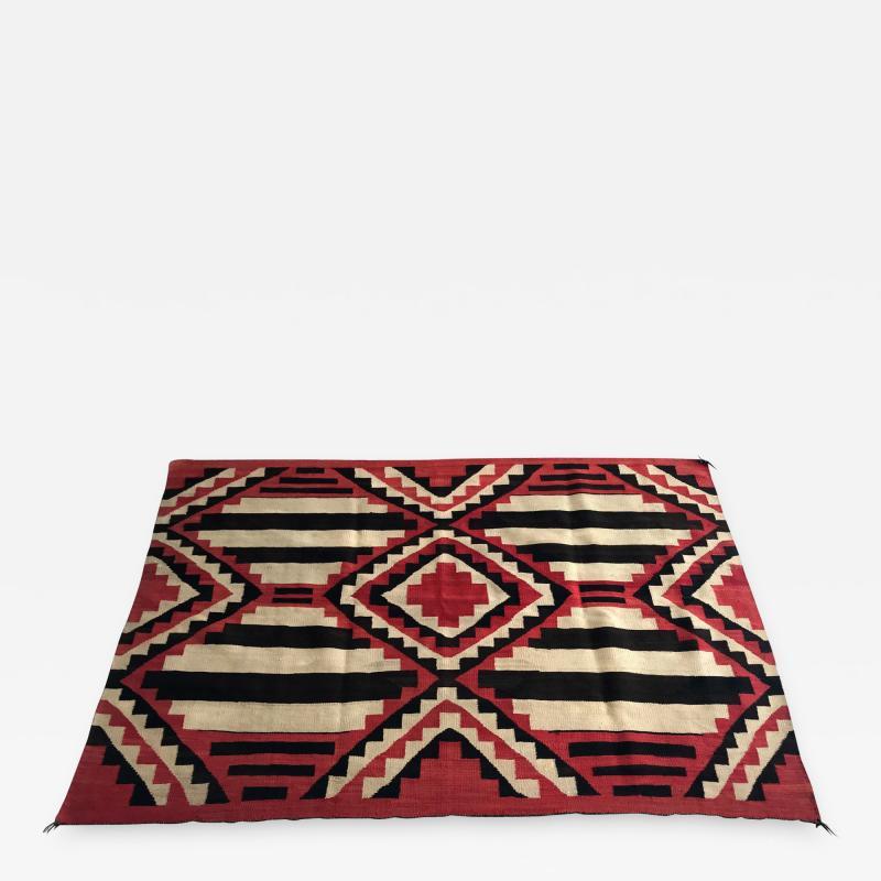 An Antique Navajo Chief Blanket