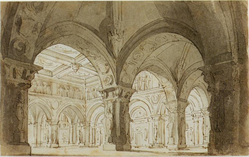 An Architectural Fantasy with Arches
