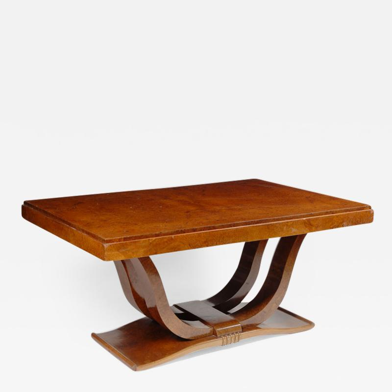 An Art Deco Dining Table