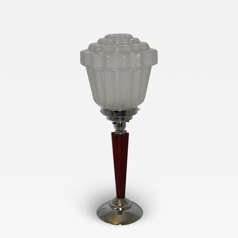 An Art Deco Table Lamp