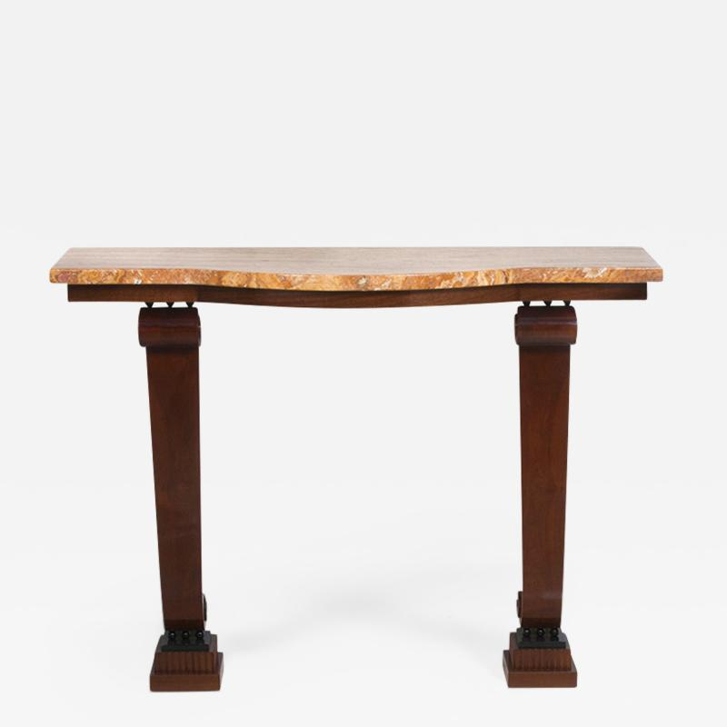 An Art Deco style console table