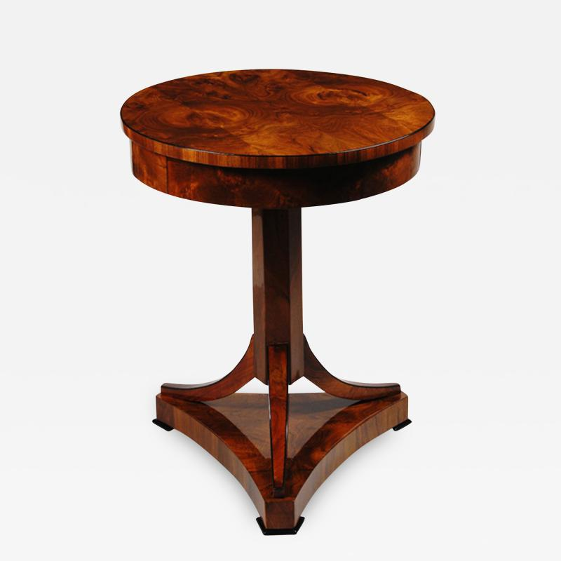 An Elegant Biedermeier Occasional Table