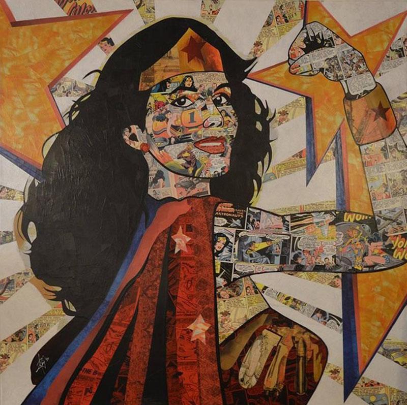 Anabel Ruiz Wonder Woman Blast