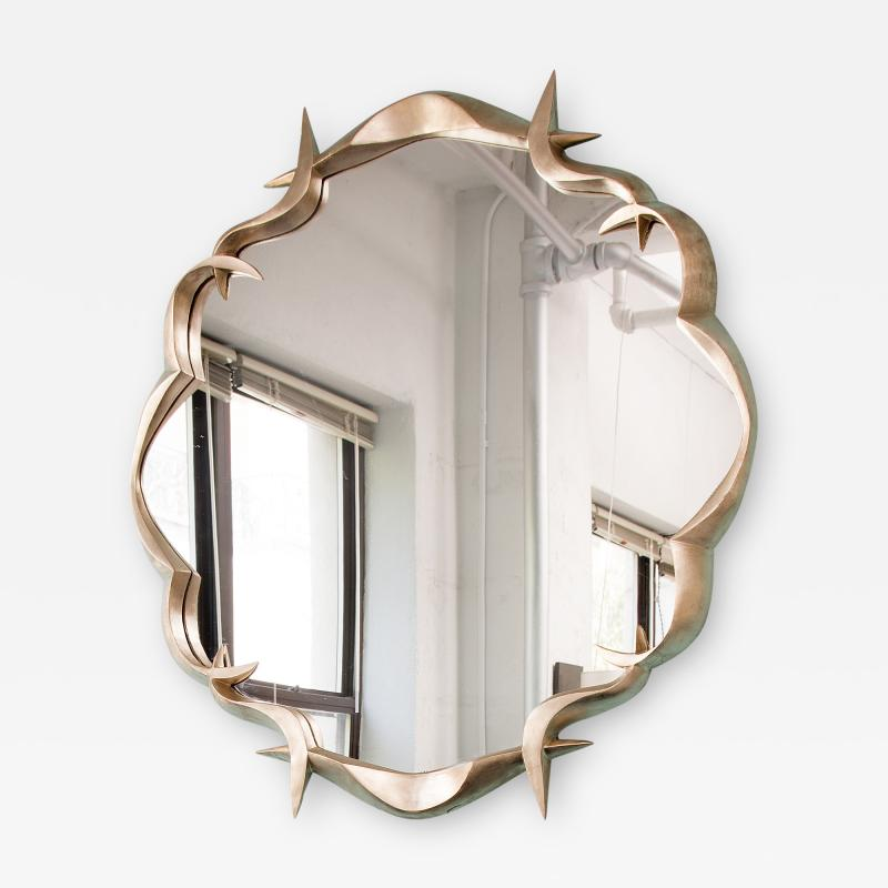 Anasthasia Millot Bronze Gilded Mirror by Anasthasia Millot