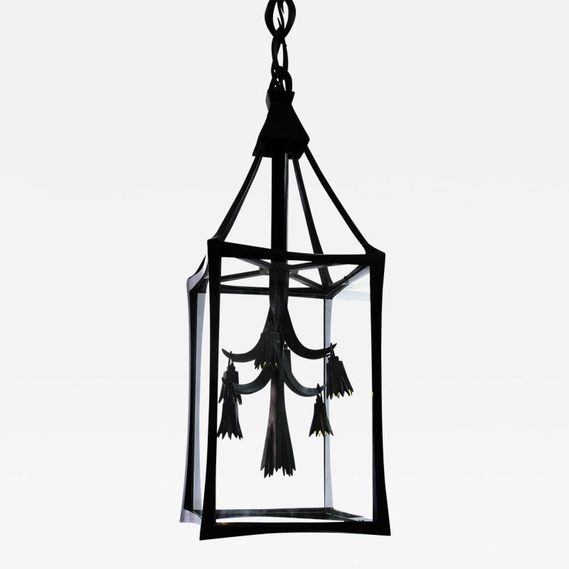 Anasthasia Millot Bronze Lantern by Anathasia Millot