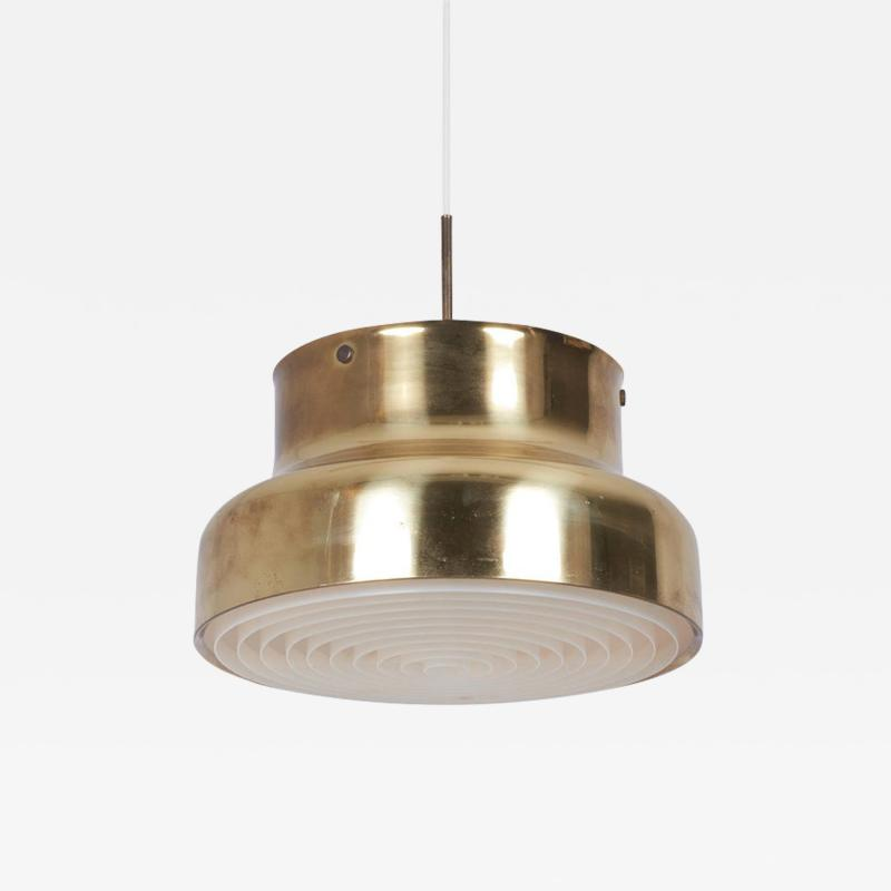 Anders Pehrson Pendant Ceiling Lamp Bumling in Brass by Anders Pehrson for Atelj Lyktan