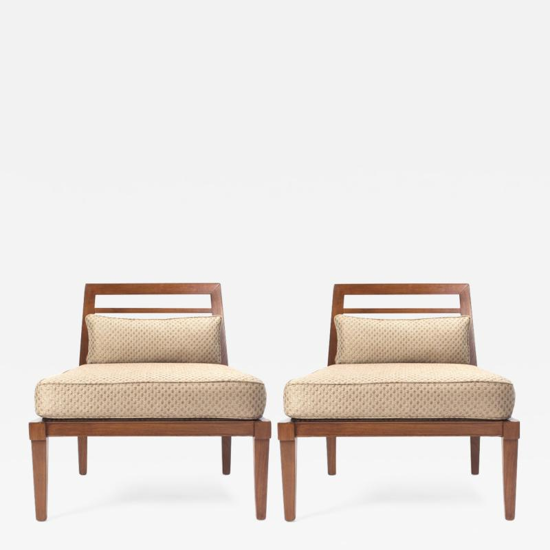 Andr Arbus French Mid Century Chairs in the style of Andre Arbus