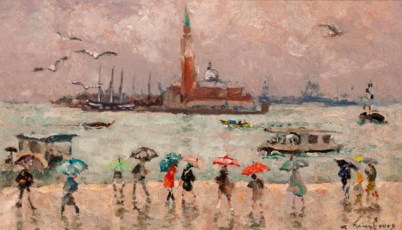 Andr Hambourg Pluie a Venice