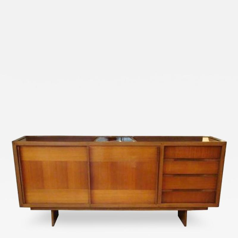 Andre Sornay Andre Sornay Privately Commissioned Sideboard France Circa 1959