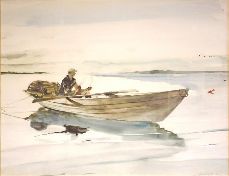 Andrew Wyeth The Lobster Man
