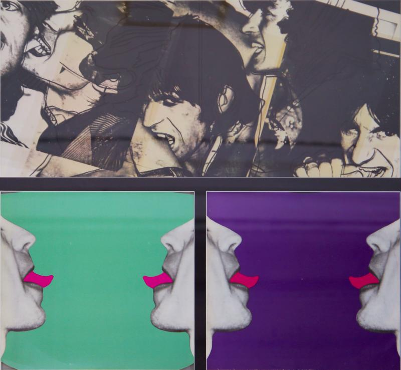 Andy Warhol Cover album by the Rolling Ston created by Andy Warhol With authentic signature