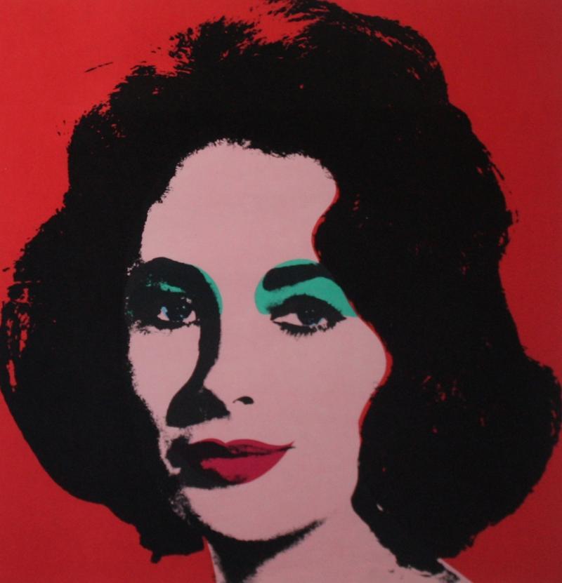 Andy Warhol Liz II 7