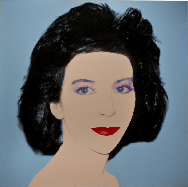 Andy Warhol Sarah Goldsmith Mrs George