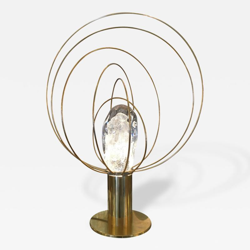Angelo Brotto Barnaba Brass Table Lamp by Angelo Brotto for Esperia