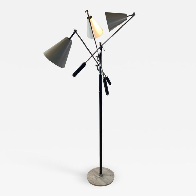Angelo Lelii Lelli ARREDOLUCE TRIENALLE FLOOR LAMP BY ANGELO LELLI