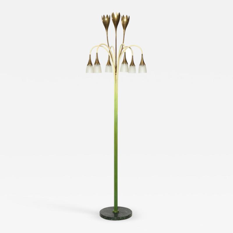 Angelo Lelii Lelli No 77 Rare Floor Lamp by Angelo Lelii for Arredoluce