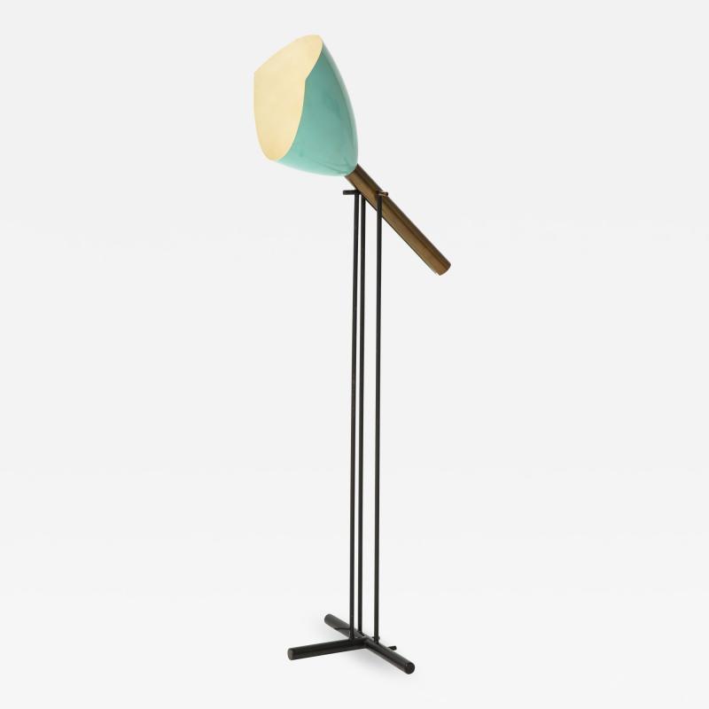 Angelo Lelii Lelli Rare Floor Lamp Model 12627