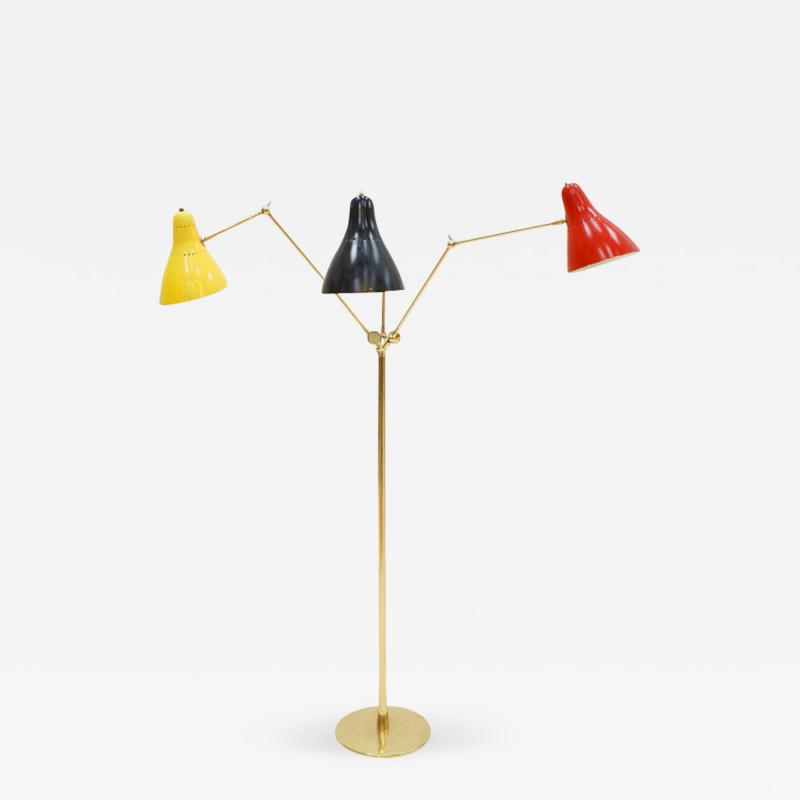 Angelo Lelli Floor Lamp Designed by Angelo Lelli