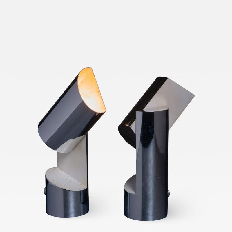 Angelo Lelli Lelii Pair of Table Lamps by Angelo Lelli for Arredoluce