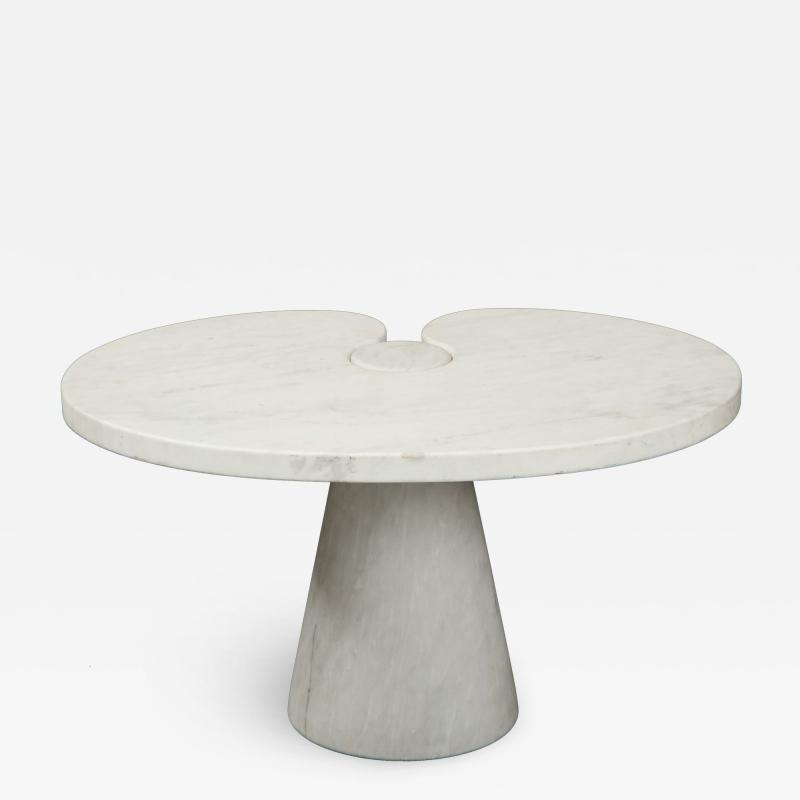 Angelo Mangiarotti Angelo Mangiarotti Carrara Marble Eros Side Table for Skipper