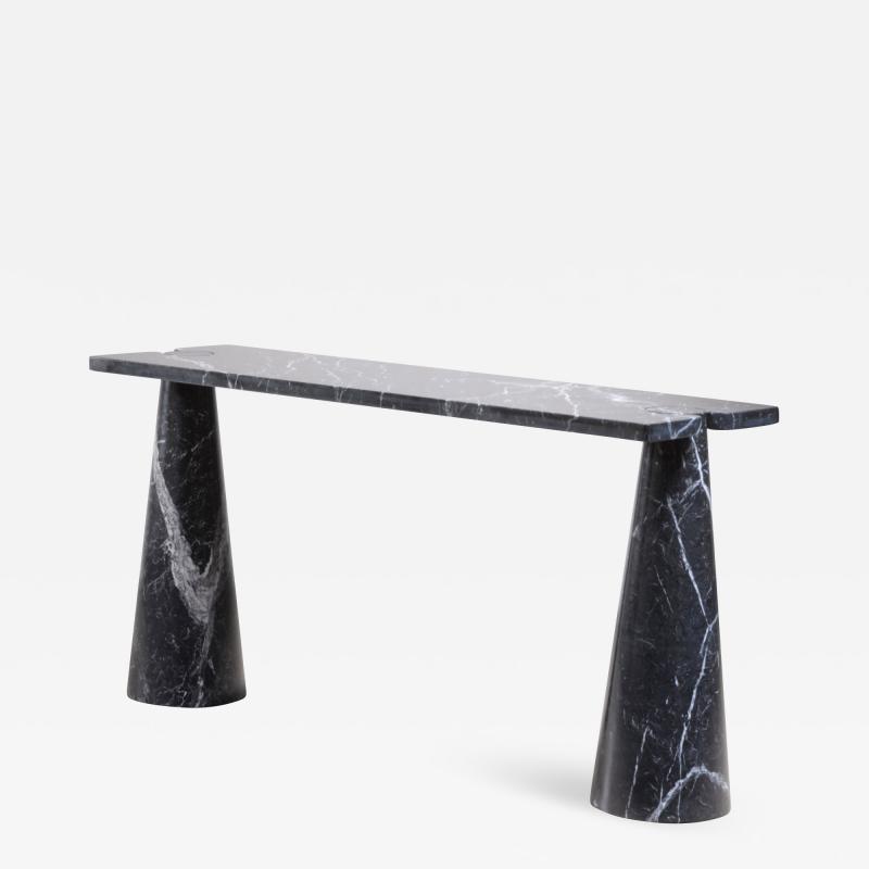 Angelo Mangiarotti Angelo Mangiarotti black marble console table