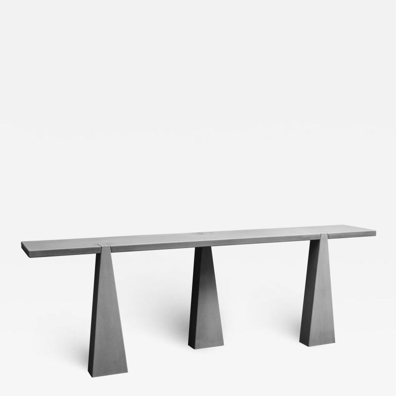 Angelo Mangiarotti Inca Console Table by Angelo Mangiarotti for Skipper in 1978