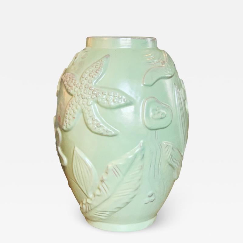 Anna Lisa Thomson Marine Themed Vase by Anna Lisa Thomson for Ekeby