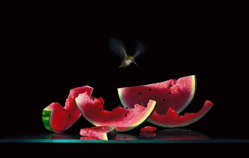 Another Bite Contemporary Still Life Giclee Print by Dario Campanile
