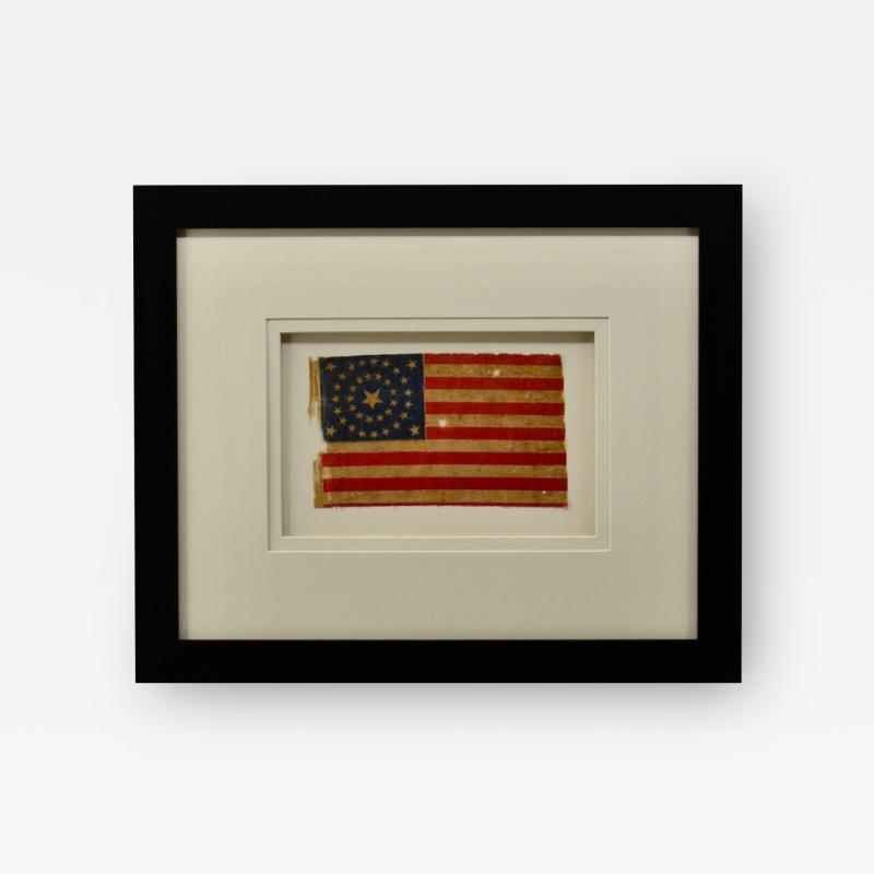 Antique 37 Star American Flag