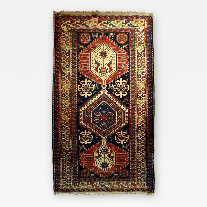 Antique Caucasian Shirvan Carpet
