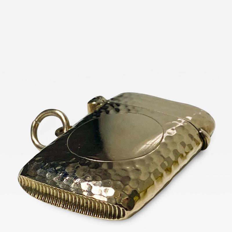 Antique Gold Vesta Case Chester 1905