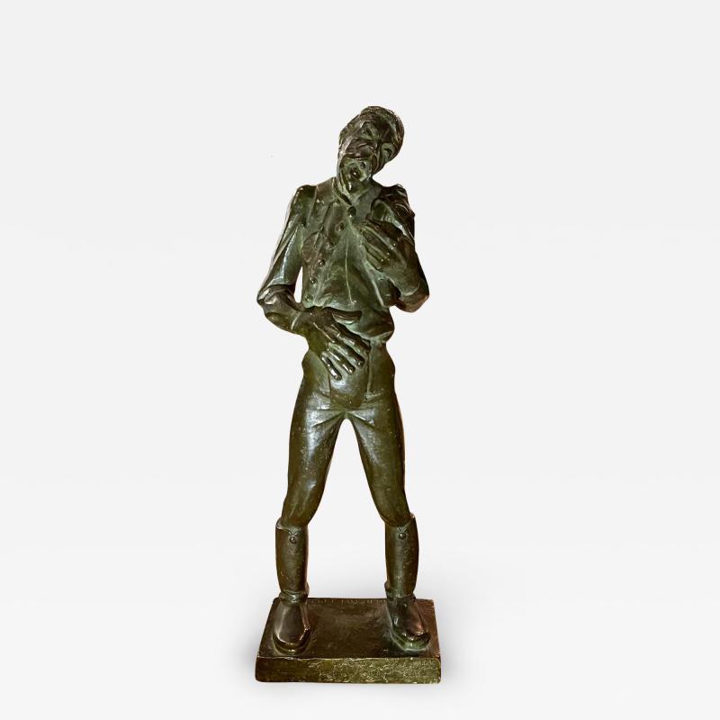 Antique Hungarian Bronze Sculpture by Kerenyi