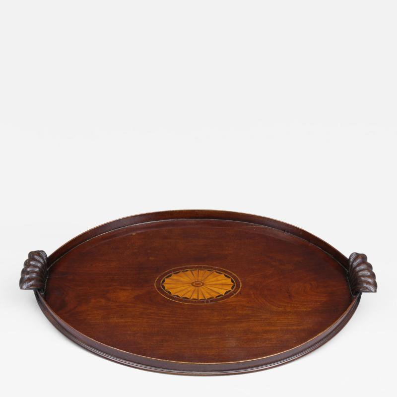 Antique Irish Oval Tray Circa 1780