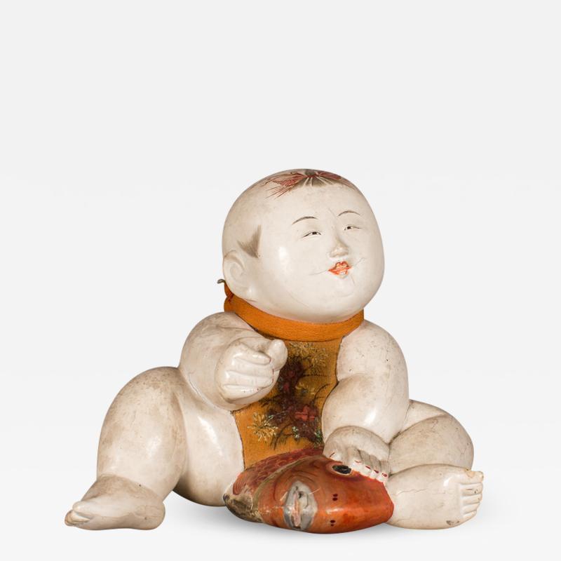 Antique Japanese Gosho Ningyo