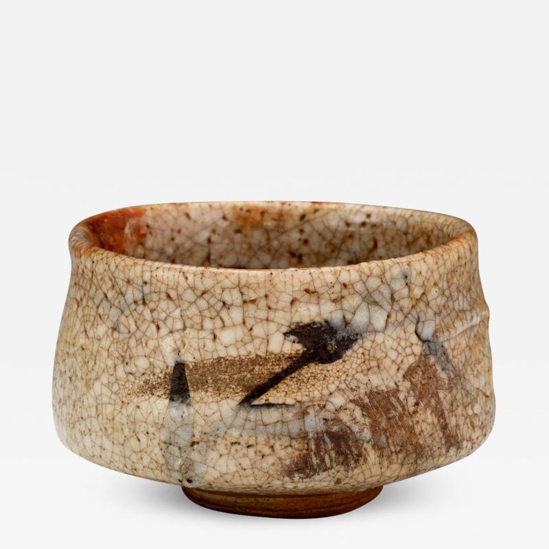 Antique Japanese Shino Ware Chawan Tea Bowl