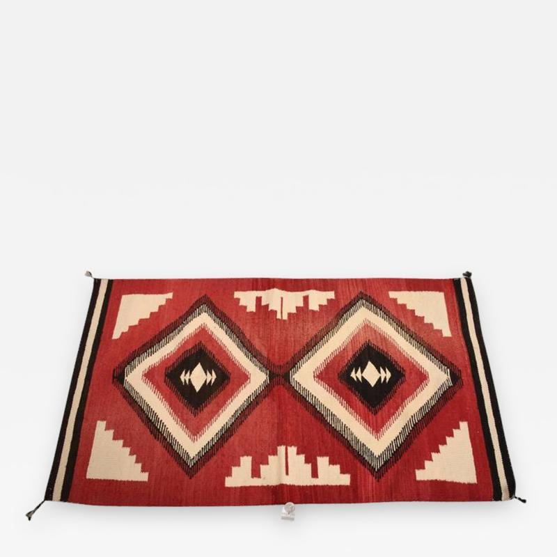 Antique Navajo American Indian Rug