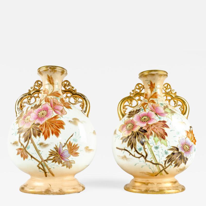 Antique Pair German Porcelain Pieces