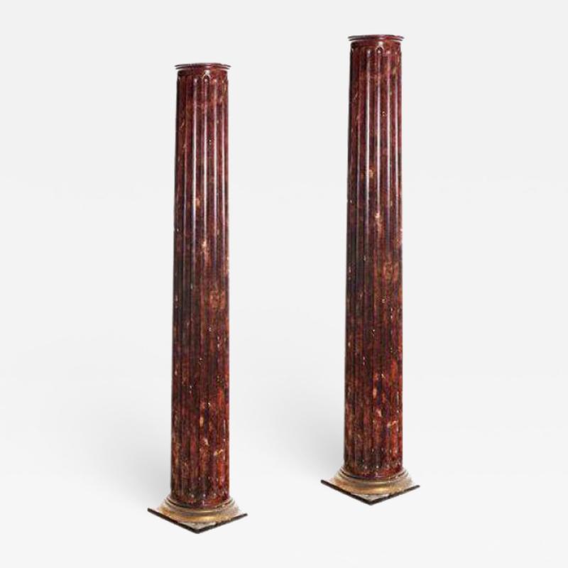 Antique Victorian San Francisco Columns A Pair