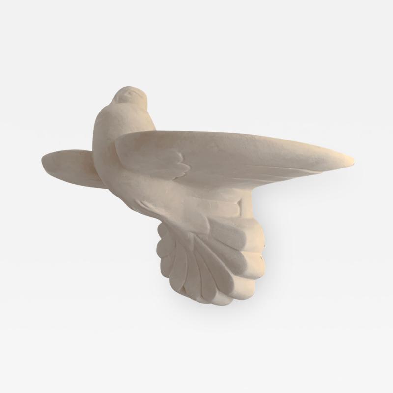 Antoine Vignault HOPE Dove plaster sconce by OAK Studio