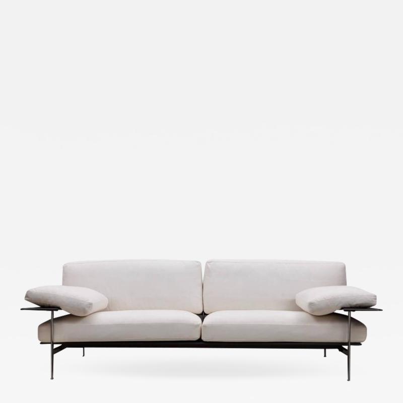 Antonio Citterio B B Italia Diesis Three Seat Sofa Designed by Citterio Nava 1979