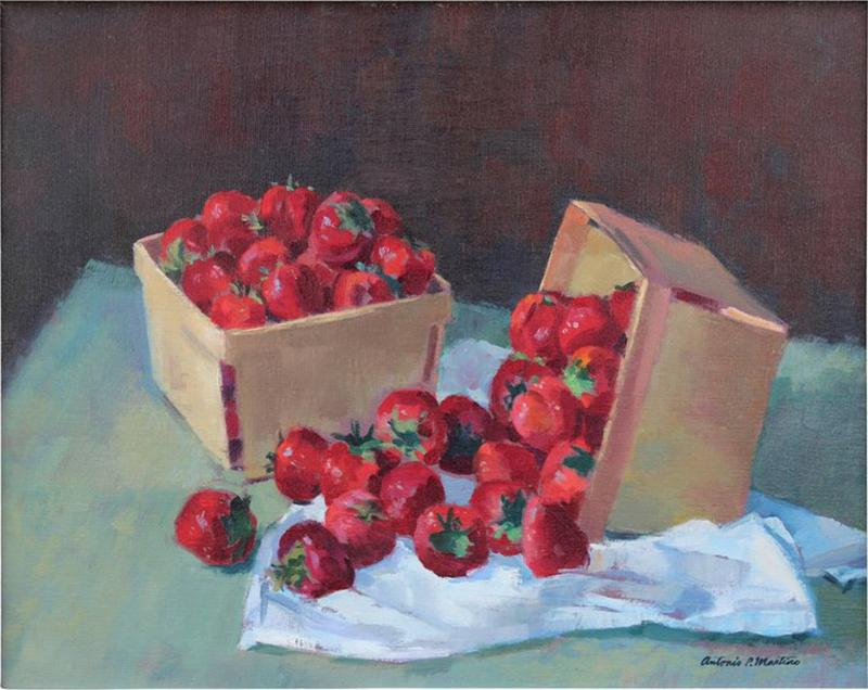 Antonio Pietro Martino Strawberries by Antonio Pietro Martino