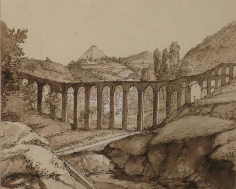 Aqueduct of La Cava deTirreni in Campania