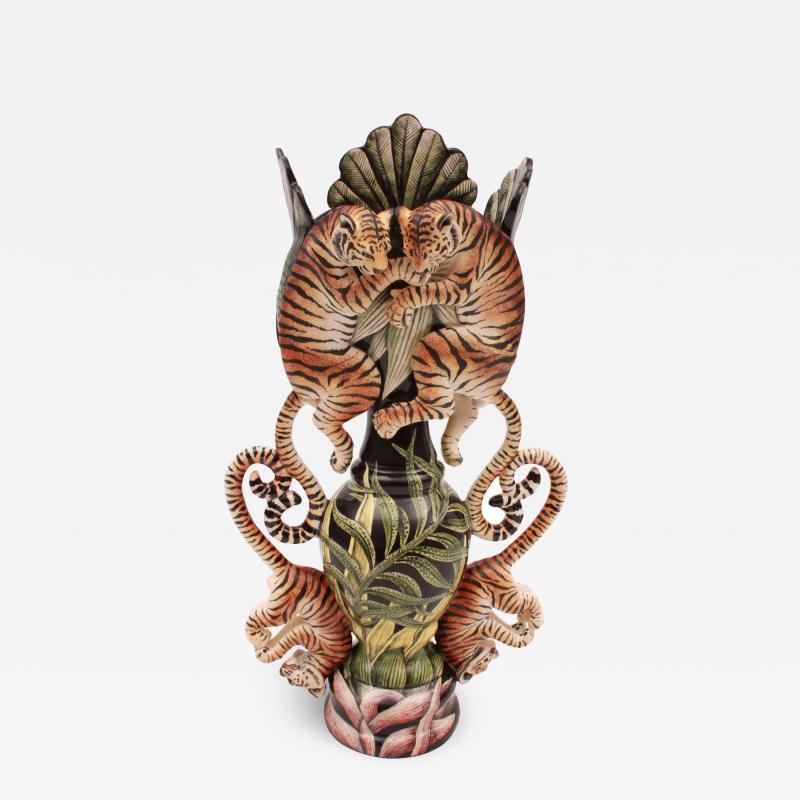 Ardmore Ceramic Art Tiger Vase