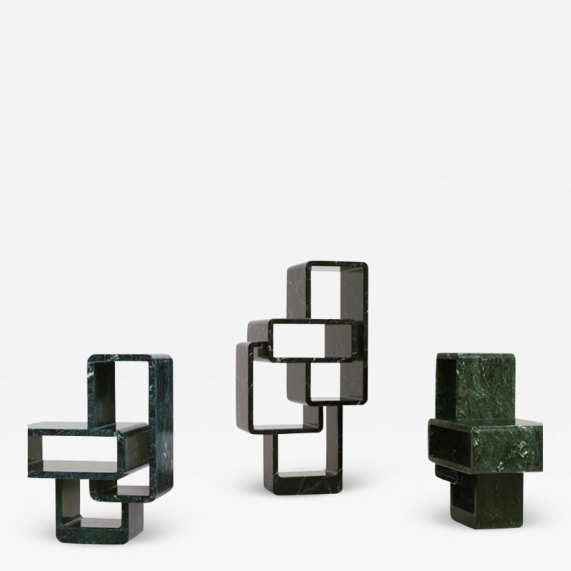 Arik Levy Mineral Structure Bookshelves