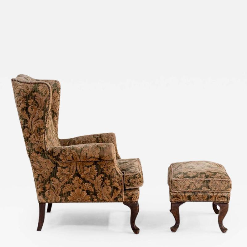 Armchair and Its Ottoman
