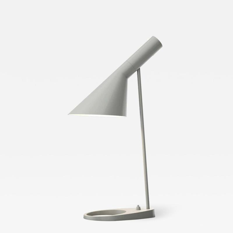 Arne Jacobsen Arne Jacobsen AJ Mini Table Lamp in Original Grey for Louis Poulsen
