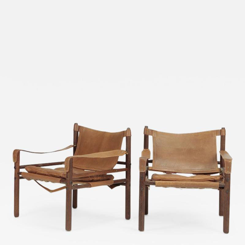 Arne Norell 2 Arne Norell Scirocco Armchairs Wenge 60