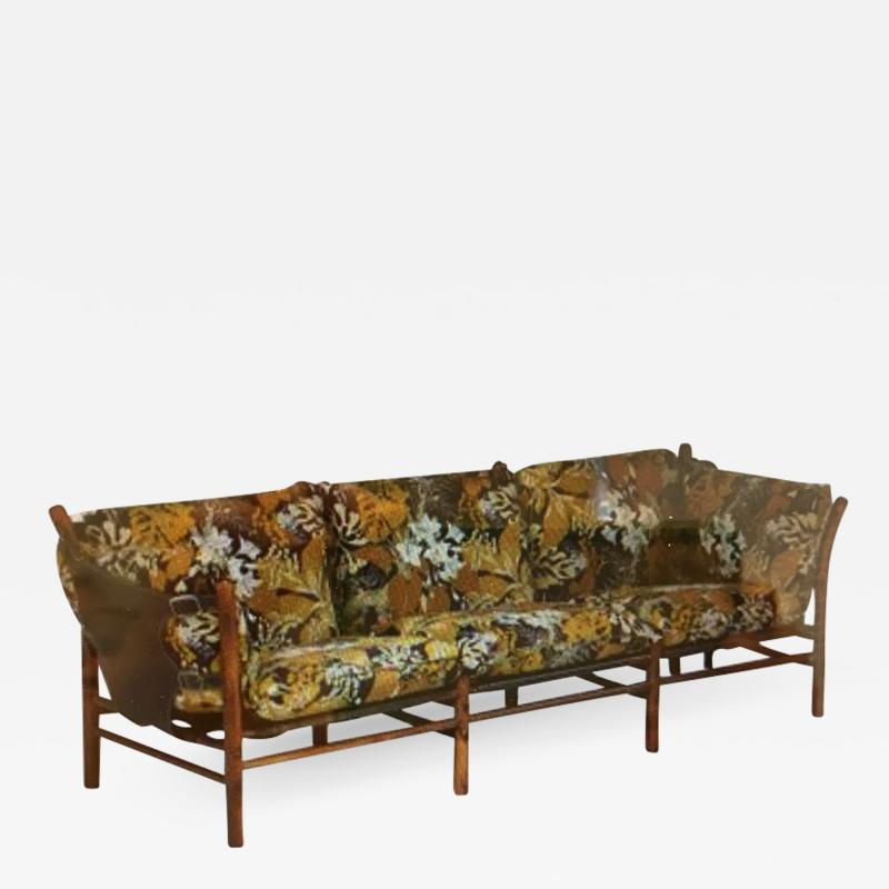 Arne Norell Arne Norell three seat Inca sofa
